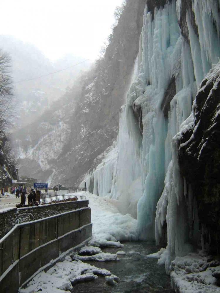 Visit Chegem waterfalls and